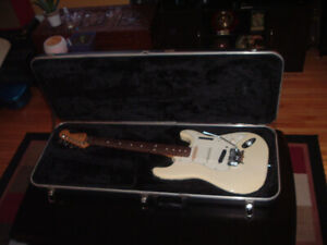 Vintage Fender Stratocaster. Made in the USA.
