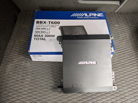 Alpine 2 channel amp (Max 300w)