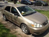 TOYOTA Corolla 2006 very good condition