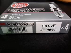 4 brand new NGK Plugs BKR7E for VW