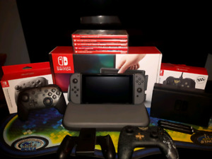 Nintendo switch and more!
