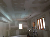 Tape and Coat Drywall