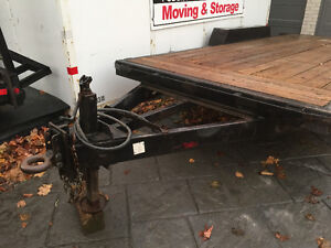 7ton tandem axel equipment trailer 16ft