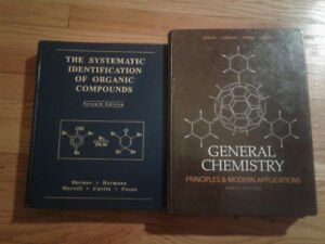 General Chemistry 9th Edition + Organic Identification + guide