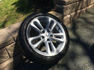 Honda Civic SI Mags & 4 new tire package for sale