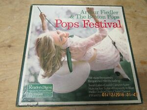 Arthur Fiedler and The Boston Pops-Readers Digest-1967-10 LP