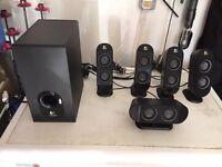 Logitech X-530 PC/DVD/ Xbox/Playstation speakers