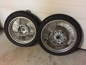 BMW R 1200 GS Wheel Set Complete