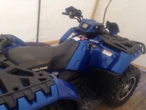 2012 sportsman XP 850 ho. Special edition blue fire