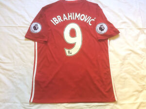 Brand NEW Authentic Man U Zlatan Ibrahimovic jersey with tags