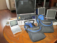 Game Boy Advance-Silver- with games, cases, & many extras