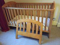 Mamas & Papas three piece nursery furniture set