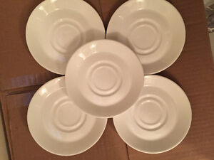 White saucers small plates for wedding favours dinnerware tea cu