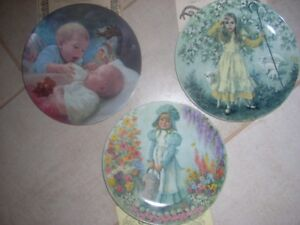 3 assiettes a collectionner