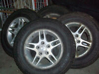 4 Jeep Arctic Claws - Winter Tires (225/75/16)