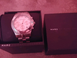 Authentic Silver Marc Jacobs Watch