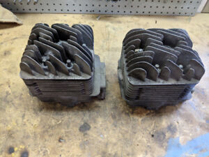 Yamaha ss440 crankcase, cylinders and heads