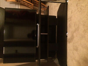 Haier TV and table