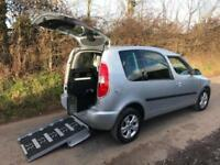 2014 Skoda Roomster 1.2 TSI 105 SE 5dr DSG AUTOMATIC LEWIS REED WHEELCHAIR AC...