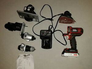 Black and Decker 20v Matrix cordless lithium