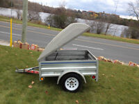 2007 Trailer With Top For Sale - $750