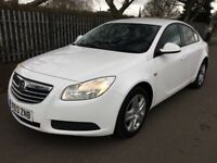 Vauxhall Insignia ES 2.0CDTi 16v (130PS) Good / Bad Credit Car Finance (white) 2013