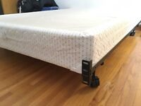 Box spring with frame -queen size