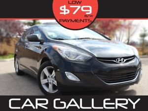 2013 Hyundai Elantra GLS Sunroof,A/C, Cruise $79 Bi-weekly! YOU'