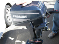 For Sale Used 1991 Evinrude 4HP Deluxe OutBoard Motor
