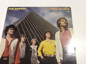 Lost in Love AIR SUPPLY Vinyl Record Collectible