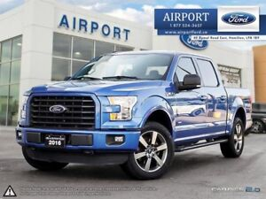 2016 Ford F-150 XLT Sport with only 35,785 kms