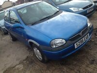 Vauxhall corsa cheap 195