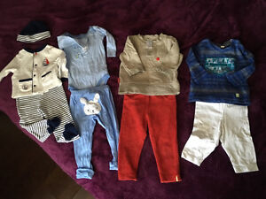 Baby MEXX Kushies outfit 9 pc 3-6 months