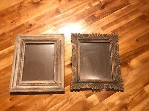 Vintage & teak mirrors