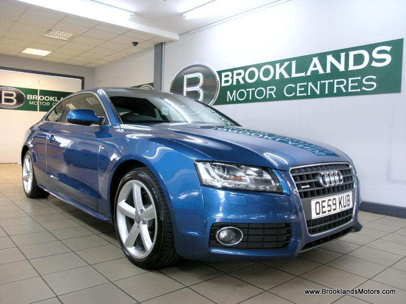 Audi A5 2.0 TDI S LINE QUATTRO 170PS [4X SERVICES, SAT NAV, LEATHER, HEATED SEAT