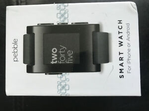 Pebble smart watch for android/ iPhone