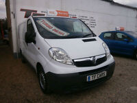 Vauxhall Vivaro Van - NO VAT! FINANCE FROM ONLY £25 PER WEEK! DELIVERY AVAILABLE