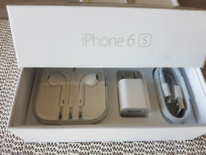 iPhone 6S box with brand new accessories