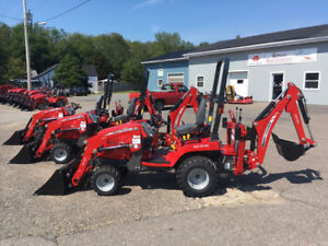 LEFTOVER Massey Ferguson GC1710 23hp TLB Package REDUCED