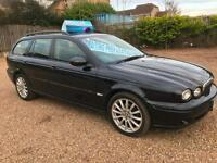 2007 Jaguar X-Type Classic D 5dr Estate, Black, **ANY PX WELCOME**