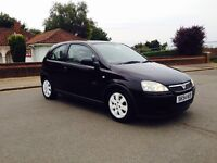 CORSA 2005-1.2 SXI BLACK 3 DOORS-LOW MILEAGES-HPI CLEAR-FULL SERVICE-START RUNS GREAT-CLEAN IN OUT
