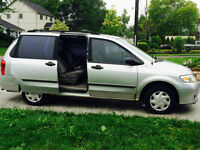 2001 Mazda MPV Minivan, Van ONLY 158500km - SOLD AS IS
