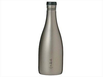 Snow peak Sake(Liquor) container carafe hip flask titanium TW-540 540ml NEW