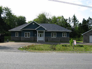 Newer Home with Detached garage, Large backyard