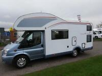 Burstner Family Nexo A645 Blue ed 6 Berth motorhome