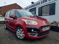 CITROEN C3 PICASSO VTR PLUS 1.6 HDI Red Manual Diesel, 2009