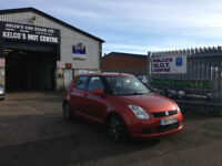 Suzuki Swift 1.3 ( 91bhp ) GL ONLY 46 THOUSAND MILES ONE OWNER!!!!!!!
