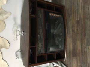 Fire place stand