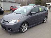 2007 MAZDA 5, FOUR DOOR, AUTO, SIX PASSENGER WITH THIRD ROW SEAT