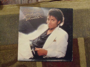 THRILLER!! Rare Michael Jackson Vinyl Record Album! Clean! London Ontario image 1